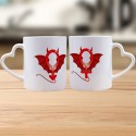 Partnertasse DUO - Devil Man and Woman