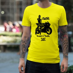 Uomo moda T-Shirt - Zou Race n'tools, Safety Yellow