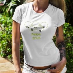Damenmode T-shirt - PANDA 2026