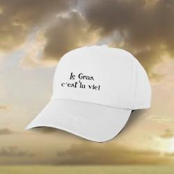Baseball Cap - Le Gras, c'est la vie