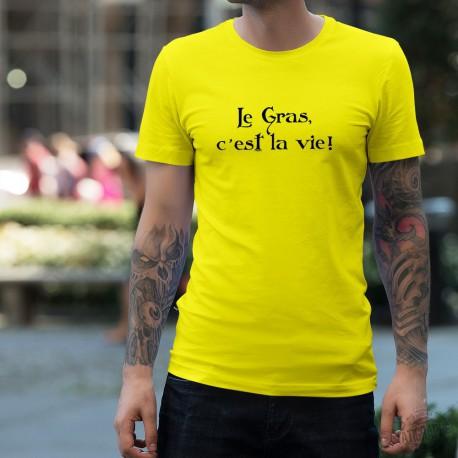 T-Shirt - Le Gras, c'est la vie, Safety Yellow