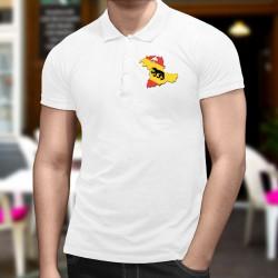 Uomo Polo Shirt - Berna 3D confini