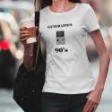 T-Shirt mode - Génération quatre-vingt-dix