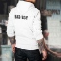 Sweat bianco a cappuccio - Bad Boy