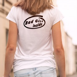 Frauen Mode T-shirt - Bad Girl Inside