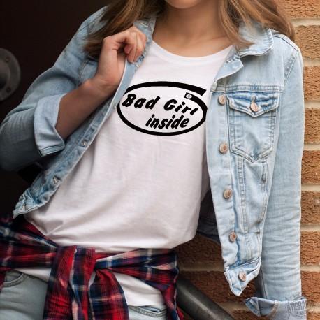 Frauen Mode T-shirt - Bad Girl Inside