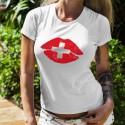Women's T-Shirt - Swiss Kiss