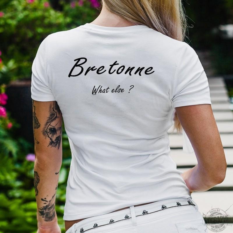 Else T T Dame Shirt BretonneWhat BretonneWhat Else Dame T Shirt 8nwPXk0O