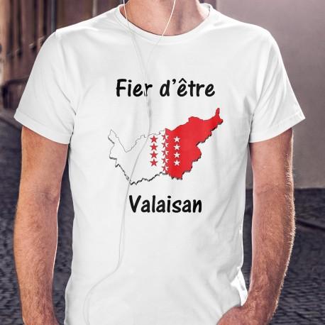 Uomo moda T-Shirt - Fier d'être Valaisan