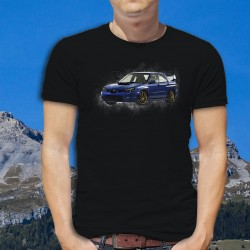 Uomo cotone T-Shirt - Subaru Impreza WRX STI