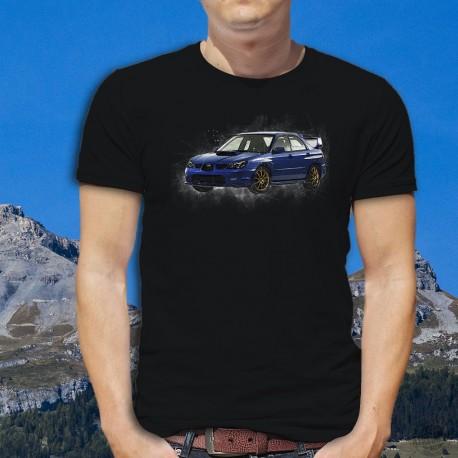 Men's cotton T-Shirt - Subaru Impreza WRX STI