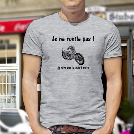 T-Shirt - Je ne ronfle pas