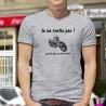 Je ne ronfle pas ! Je rêve que je suis à moto ★ T-Shirt humoristique mode homme