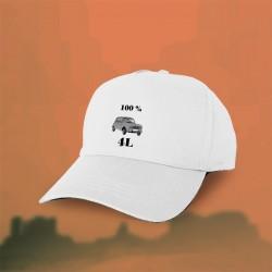 Mütze - 100 % 4L