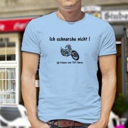 Funny T-Shirt - Ich schnarche nicht