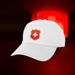 Casquette de baseball - Blason Suisse