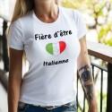 T-Shirt dame - Fière d'être Italienne