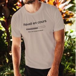 T-Shirt - Réveil en cours, November White