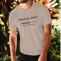 Réveil en cours ★ T-Shirt humoristique homme