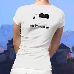 Mode T-shirt - J'aime un Dzodzet