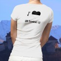 Donna T-shirt - J'aime un Dzodzet