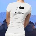 T-Shirt mode - J'aime un Dzodzet