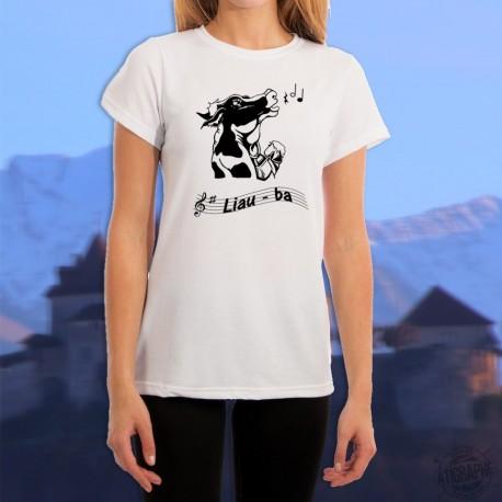 Frauenmode Lustig T-shirt - Liauba