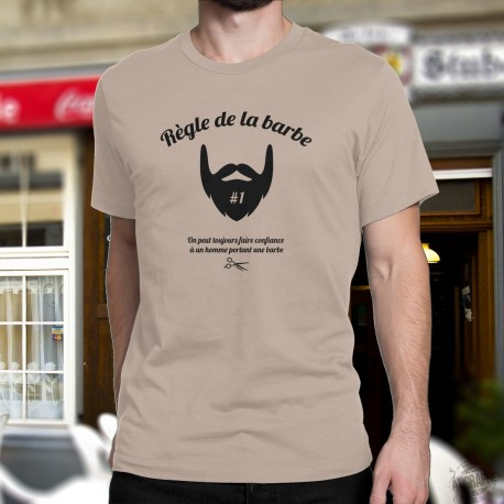 T-Shirt - Règle de la barbe N°1