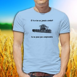 Funny T-Shirt - moissonneuse-batteuse