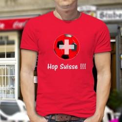 Uomo cotone T-Shirt - Hop Suisse
