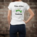 T-Shirt mode - Fière d'être Vaudoise