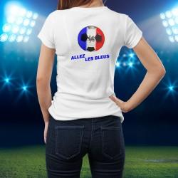 Women's slim T-Shirt - Soccer - Allez les Bleus