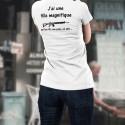T-Shirt mode - J'ai une fille magnifique