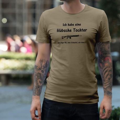 Funny T-Shirt - Ich habe eine Hübsche Tochter