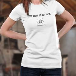 Donna moda T-shirt - C'est Maman qui fait la loi