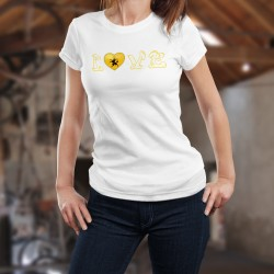 Frauen mode T-shirt - LOVE Schaffhausen