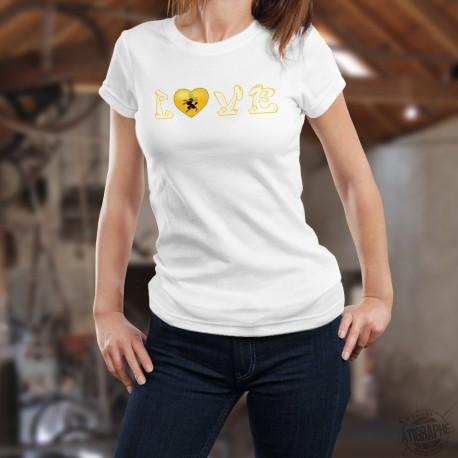 T-Shirt mode femme - Love Schaffhouse