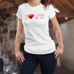 Donna T-shirt - LOVE Glarus