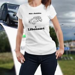 Lustige Damenmode T-shirt - Döschwo Läbensart
