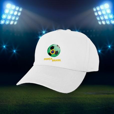 Fußball Mütze - Força Brasil