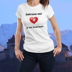 Donna T-shirt - Embrasse-moi je suis Gruérienne