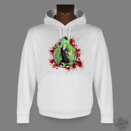 Hooded Manga Sweat - Rotten Nurse