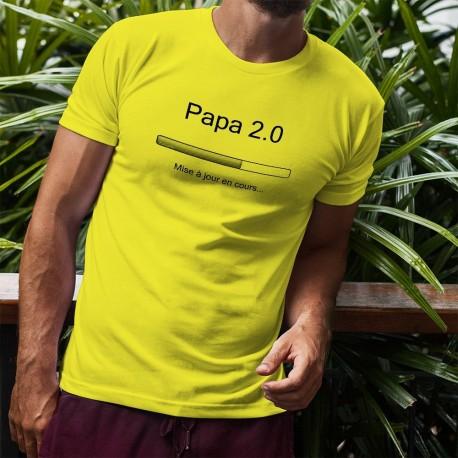 Uomo funny T-Shirt - Papa 2.0