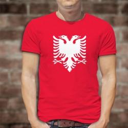 Herren Mode Baumwolle T-Shirt - Albaner Adler