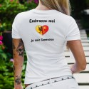 T-Shirt mode - Embrasse-moi je suis Genevoise