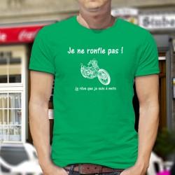 cotone T-Shirt - Je ne ronfle pas