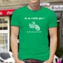 T-Shirt coton - Je ne ronfle pas