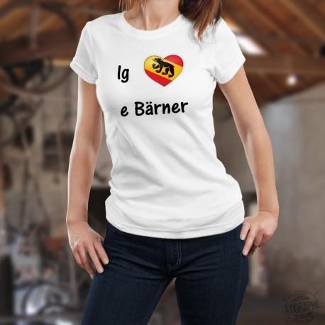 T-Shirt dame - ig liebe e bärner