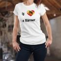 Mode T-shirt - ig liebe e bärner - Bärner Dialekt