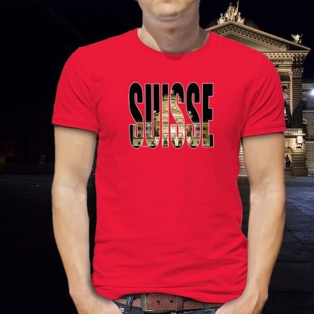T-shirt coton mode homme - Suisse - Palais fédéral